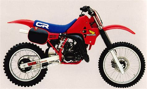 honda cr 125 check out this week s classic steel for a look back at the