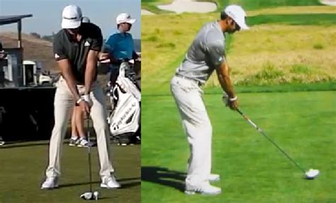 strong golf grip swing dustin johnson golf swing analysis consistentgolf com