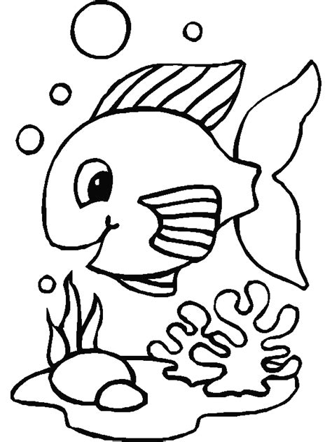 Fish Coloring Pages Coloringpages1001 Com Fish Coloring Pages
