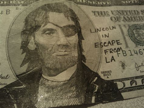 abraham lincoln on dollar irti picture 5 tags abe lincoln doodle snake