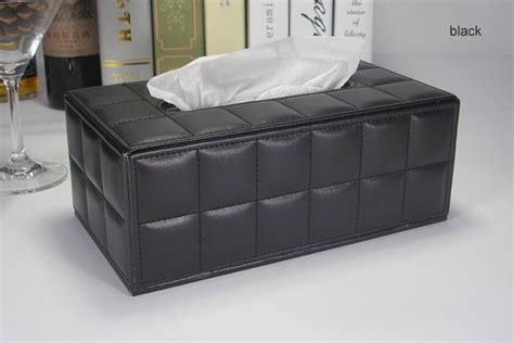 Tissue Hotel Cover 50 Set aliexpress buy luxury fashion rectangle leather removable tissue napkin box holder toilet