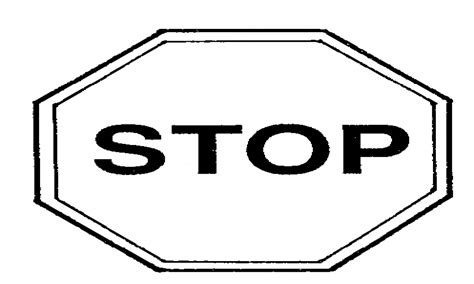 stop sign coloring page printable stop sign coloring page home sketch coloring page