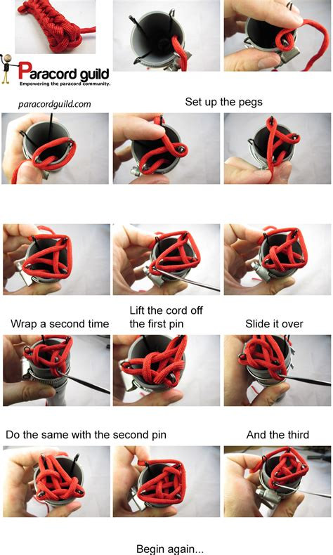 how to start a knitting project three and four peg spool knitting paracord guild