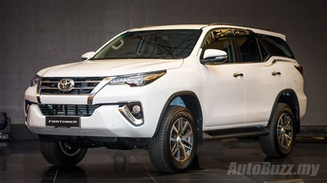 Toyota My 2016 Toyota Fortuner Launched In Malaysia Priced At