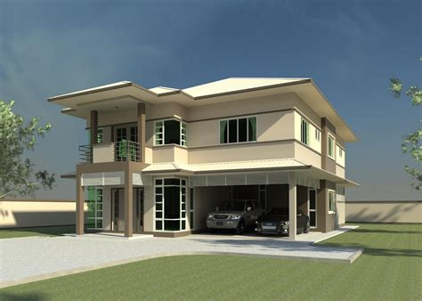 home design 3d double story modern double storey house plans quotes home building