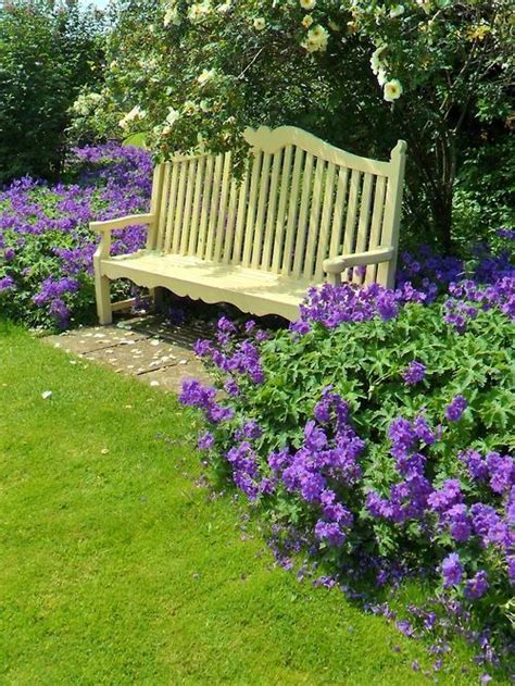 green bench flowers 45 best images about garden patio decor on pinterest