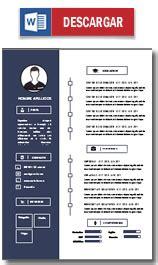Plantillas De Curriculum Vitae Experiencia En Word Plantilla Curriculum Vitae Ejemplo Cv Hacer Un Curriculum Modelo Cv