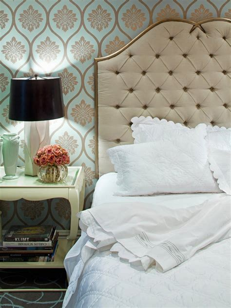 headboard wallpaper photos hgtv