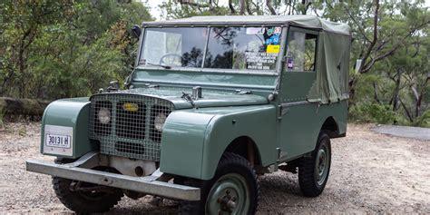 old black land rover land rover defender old v new comparison 1948 series 1 v