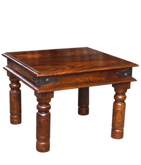 Table L Purchase by Solid Wood Takhat Coffee Table Buy At Best Price