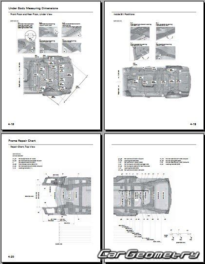 old cars and repair manuals free 2011 honda cr z engine control геометрические размеры кузова honda odyssey rl5 2011 2016 usa body repair manual