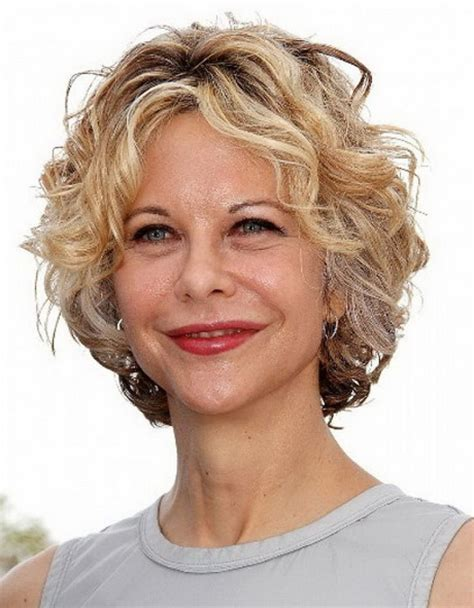 hairstyles with frizzy hair for 50 pictures of short curly hairstyles for women over 50