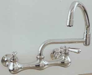 kitchen wall faucet wallmount kitchen faucets