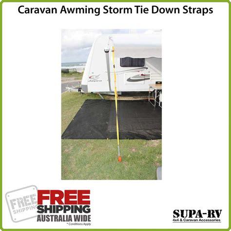 caravan awning storm straps caravan awning storm tie down straps kit 2 per set with
