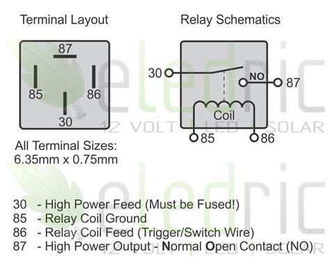 relay diagram 4 pin 4 pin spst relay wiring diagram relay connection diagram