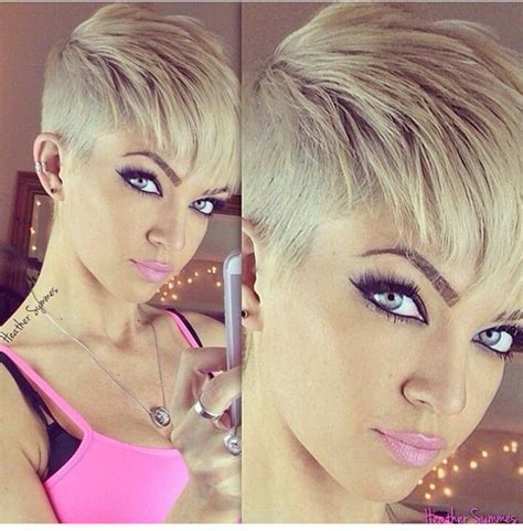 back of head asymettrical hair line cuts best 25 very short pixie cuts ideas on pinterest very
