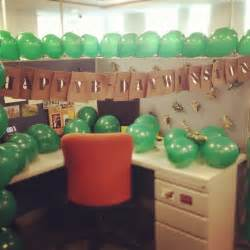 Office Desk Birthday Decoration Ideas 17 Best Images About Cubicle Birthday Decorating Ideas On Cubicle Decorations