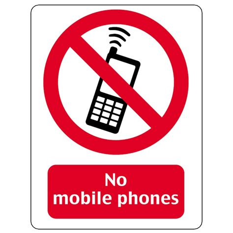 not mobile no mobile phones vector sign at vectorportal