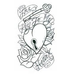 heart with banner tattoo designs cliparts co