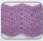 crochet wave ripple pattern stitch knitting bee crochet wave pattern knitting bee