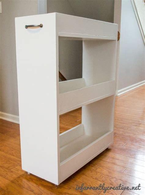 diy laundry room cabinets slim rolling laundry room storage cart free diy plan