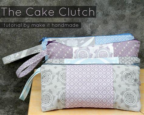 Handmade Clutches Pattern - make it handmade the cake clutch