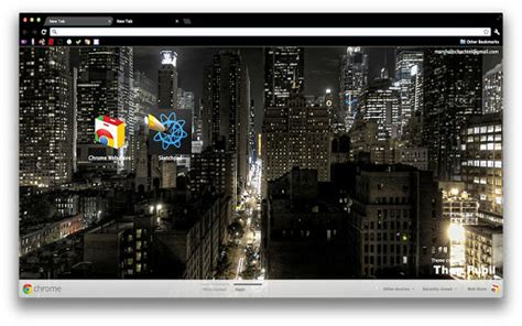 chrome night theme the top best google chrome themes for 2013