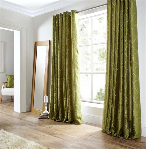 1pcs green willow sheer curtain for living room window green curtains olive wide width basic solid grommet