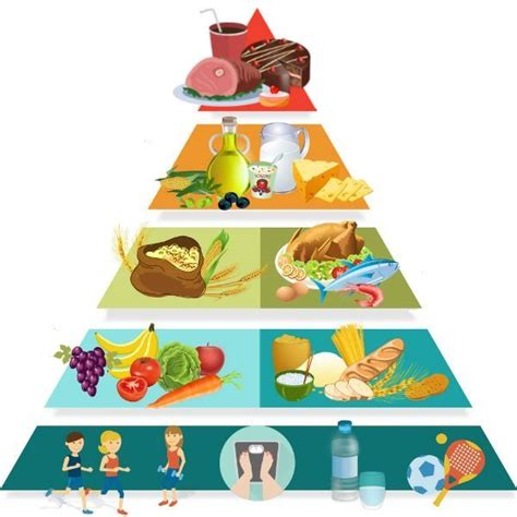 piramide alimentare la dieta mediterranea il mondo delle ricette