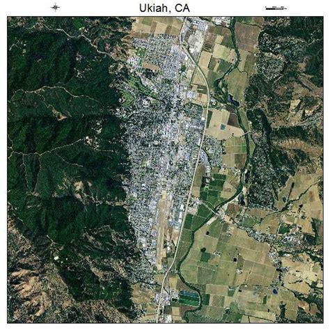 map ukiah ca aerial photography map of ukiah ca california