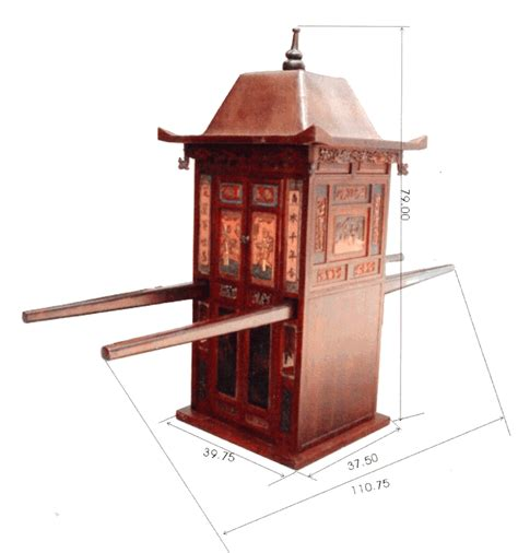 Southern Bathroom Ideas antique asian decor bridal sedan chair from southern china