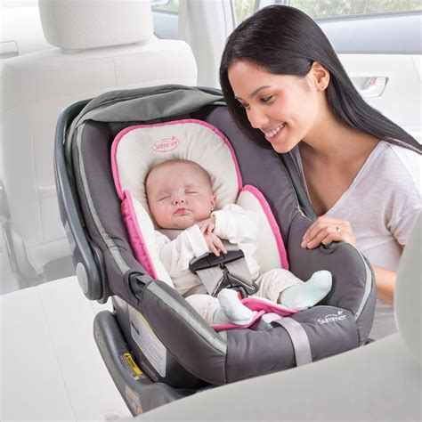 baby car seat support cushions soft material provides support for baby s and back