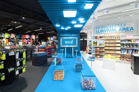 home design store munich decathlon connect store by kplus konzept munich germany