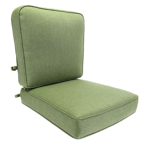 green outdoor lounge chair hton bay clairborne solid green replacement outdoor