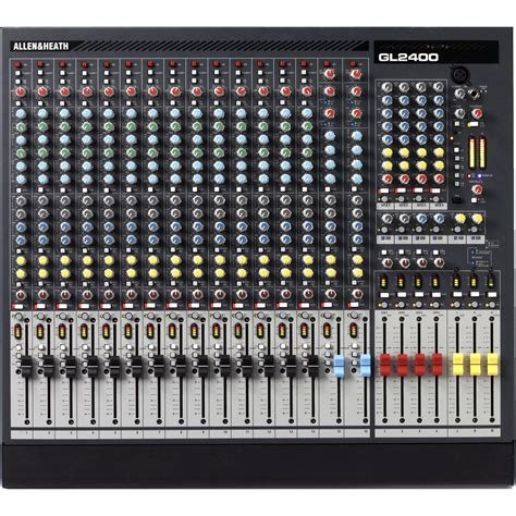 Mixer Allen Heath Gl2400 16 allen heath gl2400 16 16 input 4 buss live sound ah gl2400 16