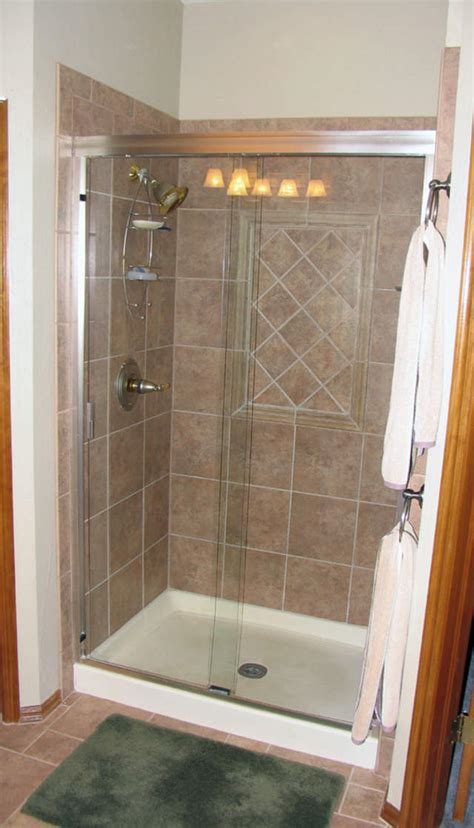 bathtub for shower stall stall showers for small bathrooms this is our shower