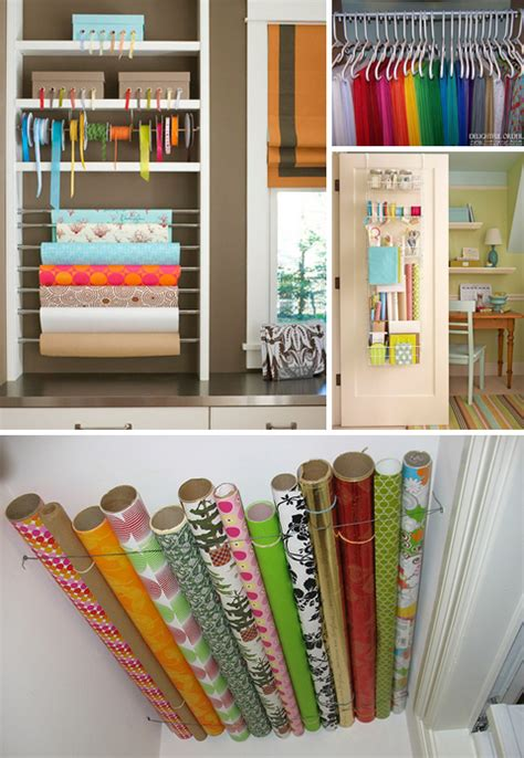 gift wrap storage ideas wrap room design finch