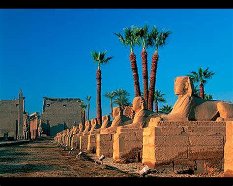 ver imagenes egipcias esfinges de egipto avenida de las esfinges