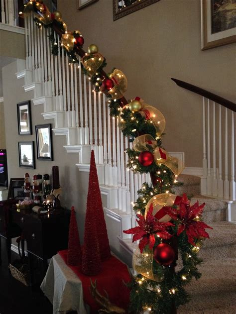 best 25 christmas staircase ideas on pinterest