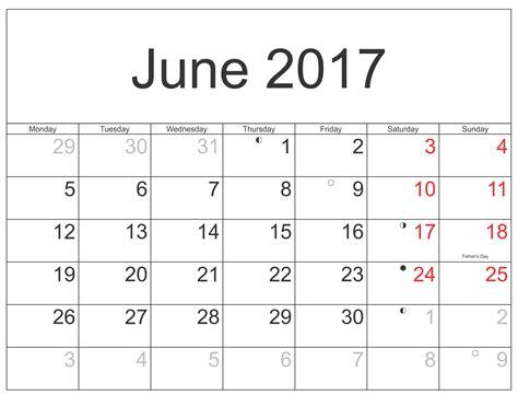 Printable Calendar With Holidays And Moon Phases June 2017 Moon Phase Calendar Schedule Free Printable