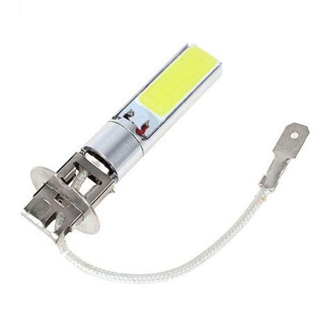 Lu Led Mobil H3 12v 20w h3 high power white cob led parking light bulb