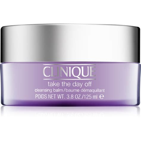 Clinique Cleansing Balm clinique take the day makeup removing cleansing balm