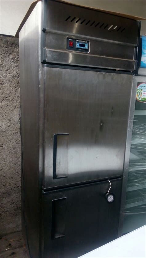 Chiller Freezer Gea kerinda cahaya equipment upright chiller freezer 2 pintu