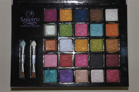 Makeup Palette Sariayu sariayu 25th anniversary eyeshadow palette appetite by simon