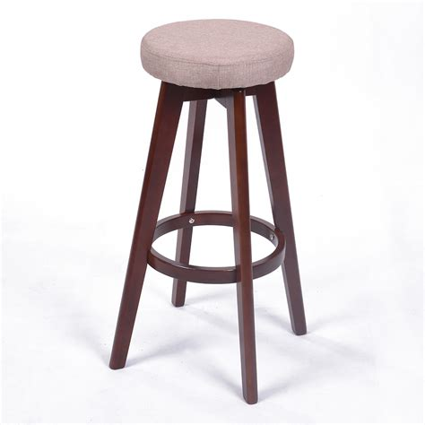 contempory bar stools new modern backless wood chevron barstool 28 5