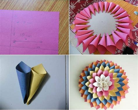 cara membuat origami bunga mawar dari kertas lipat origami bunga ros image collections craft decoration ideas