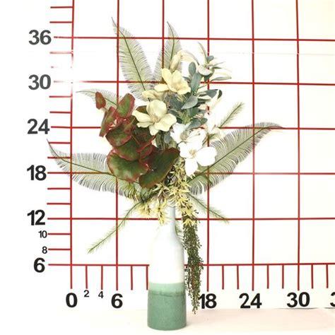 Home Decor Silk Floral Arrangement Floral Decor Tropical Handmade Tropical Decor Large Silk Flower Arrangement Floral Home Decor Artificial Flower