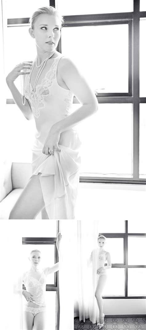 Elegant High Fashion Bridal Boudoir Photo Shoot   Junebug