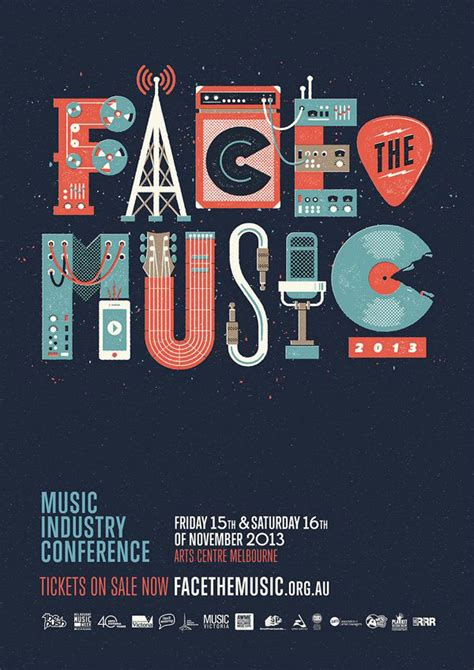 design poster music 33 incredible typographic posters web graphic design