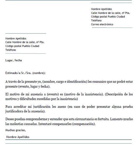 ejemplo carta de disculpa ejemplo de carta de disculpa por inasistencia carta de